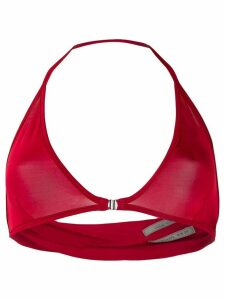 Rick Owens halterneck top - Red