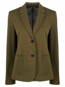 Helmut Lang Rider shrunken single-breasted blazer - Green