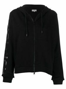 Woolrich logo-print hoodie - Black