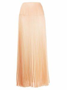 Chloé pleated long skirt - NEUTRALS