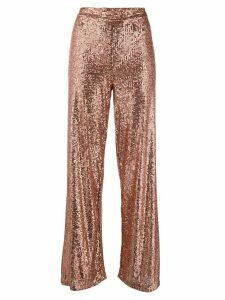L'Autre Chose sequin embellished trousers - PINK