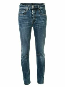 UNRAVEL PROJECT low rise skinny jeans - Blue