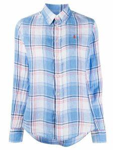 Polo Ralph Lauren check print shirt - Blue
