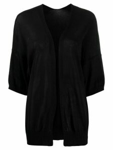 P.A.R.O.S.H. relaxed knit cardigan - Black