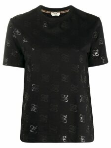 Fendi Karligraphy T-shirt - Black