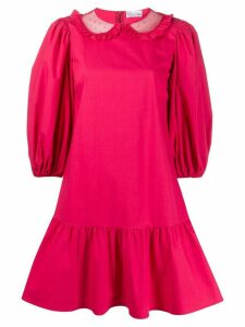 RedValentino short shirt dress - PINK