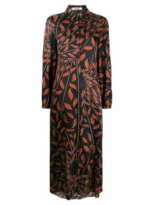 Dorothee Schumacher Graphic Ray shirt dress - Black
