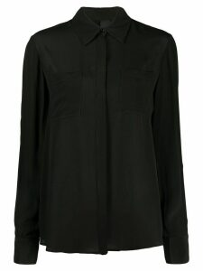 Pinko plain long sleeve blouse - Black