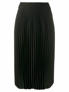 A.F.Vandevorst pleated midi skirt - Black