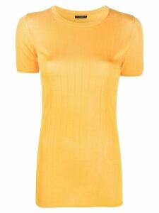 Joseph ribbed knitted top - Yellow