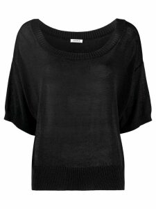 P.A.R.O.S.H. relaxed knit jumper - Black