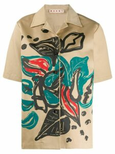 Marni printed shirt - NEUTRALS