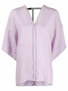A.F.Vandevorst Agent blouse - PURPLE