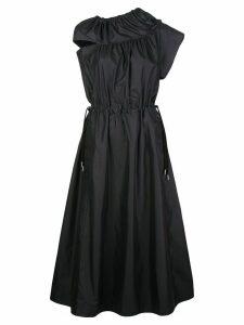 3.1 Phillip Lim cold shoulder parachute utility dress - Black
