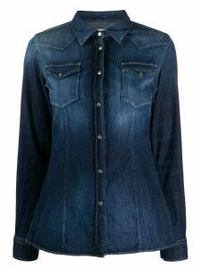 Dondup acid wash shirt - Blue