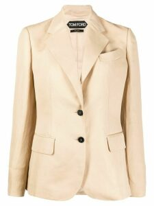 Tom Ford single-breasted blazer - NEUTRALS