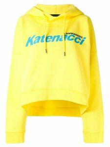 Dsquared2 Katenacci print hoodie - Yellow