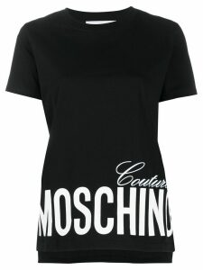 Moschino Couture print short-sleeve T-shirt - Black