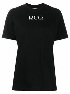 McQ Alexander McQueen short sleeve logo print T-shirt - Black