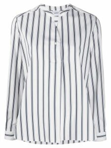 Aspesi striped cotton shirt - White