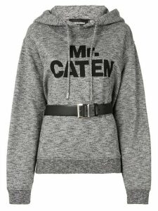 Dsquared2 Mr Caten belted hoodie - Grey