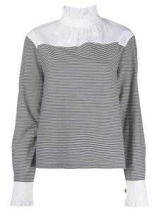Philosophy Di Lorenzo Serafini two-tone shirt - Black