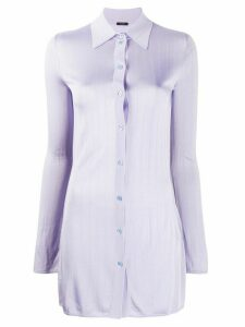 Joseph Beth knitted shirt - PURPLE