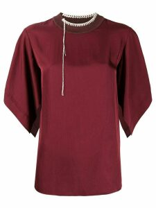 Joseph Baila wide-sleeves T-shirt - Red