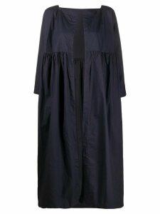 Daniela Gregis oversized open-front coat - Blue