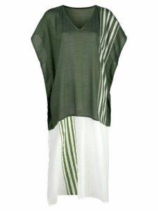 lemlem Eshe striped kaftan dress - Green