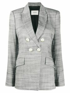 Dorothee Schumacher Structured Ambition double breasted blazer - Grey