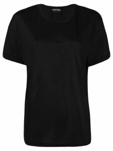 Tom Ford logo-patch short-sleeved T-shirt - Black