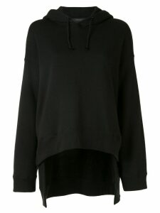 Undercover oversized cotton hoodie - Black