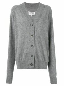 Maison Margiela decortiqué buttoned cardigan - Grey