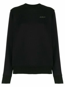 Kirin logo cotton jumper - Black