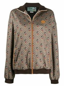 Gucci x Disney Mickey Mouse print sweatshirt - Brown