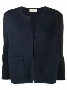 Ma'ry'ya boxy fit cardigan - Blue