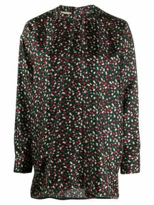 Marni floral blouse - Black