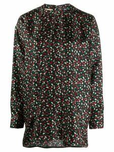 Marni floral blouse - Black