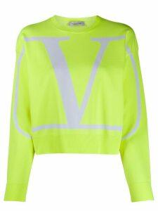 Valentino VLOGO crewneck sweatshirt - Yellow