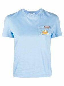 Prada crab patch T-shirt - PINK