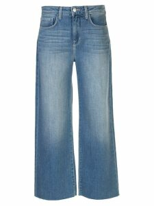 L'Agence mid rise wide-leg jeans - Blue