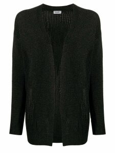 LIU JO open front cardigan - Black