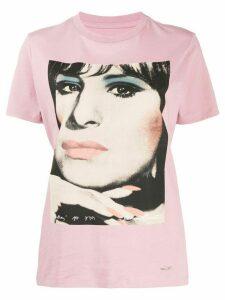 Coach Barbra Streisand print T-shirt - PINK