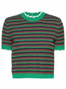 Miu Miu knitted top - Green