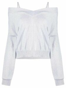 Maison Margiela slouchy knitted jumper - Grey