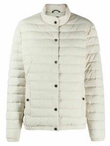 Moose Knuckles long-sleeved puffer jacket - NEUTRALS