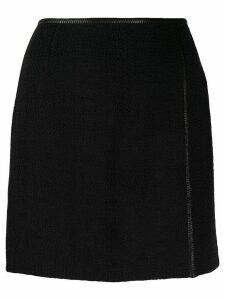 Nanushka Asun high-waisted mini skirt - Black