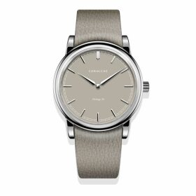 Corniche Watches Womens Heritage 36 Stainless Steel