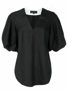 Lee Mathews Alice puff sleeve blouse - Black